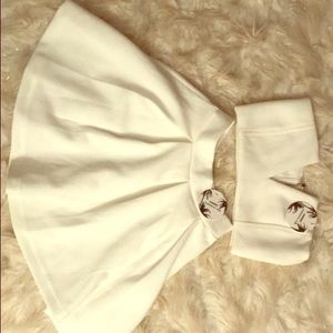 Super cute top/skirt set